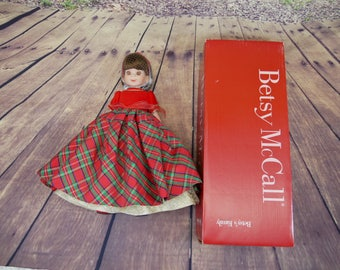 Betsy McCall doll Christmas Cotillion with box