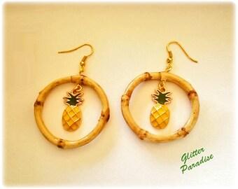 Natural Bamboo & Pineapple