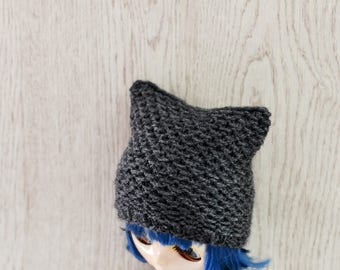 Dolls Cat Hat, Dolls Hat, Dolls Beanie Hat,