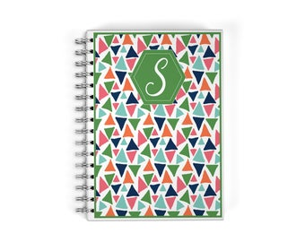 Personalized Planner - Monogrammed Notebook