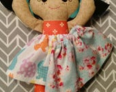 Asian Easter Rag doll Calico ready to ship
