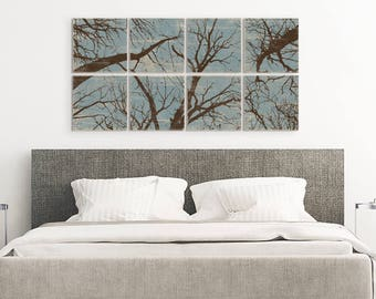 Extra Large Artwork - Rustic Tree Wall Art - Rustic Home Decor - Nature Inspired - Rustic Tree Art - Tree Branches - Pine Tree Forest