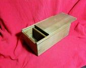 SALE - MTG Hardwood Deck Box - Slide top box