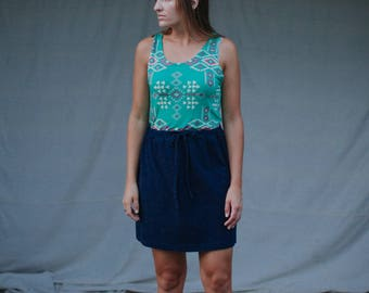 Womens Cotton Jersey Knit Skirt  Made in the USA -  Made to Order