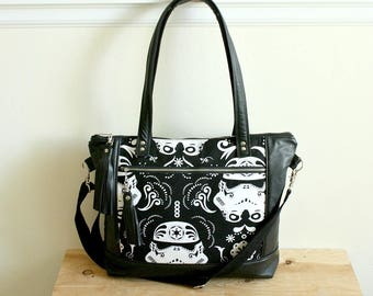 Star wars Stormtrooper handbag purse / 6 pocket /Messenger bag/ Shoulder bag/ Tote bag/ Ready to Ship