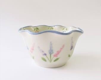 Pottery Condiment Dish,  Ceramic Condiment Bowl,  Small Pastel Dish, Trinket Dish, Relish Dish, Small Candy dish, Dipping Dish,
