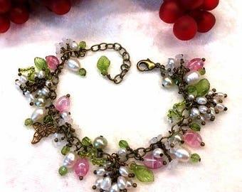 FW Pearl Grape Garden Bracelet