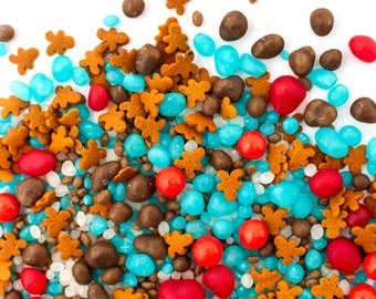 Gingerbread House Candyfetti™ Candy Sprinkles