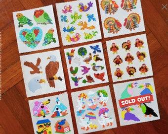 14, SANDYLION Sticker, Bird stickers, Turkey stickers, Eagle stickers, Birdhouse stickers, Duck stickers, Chicken stickers, Parrots