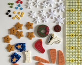 Complete Button Kit Snow Much Fun 2018 BOM from Just Another Button Company