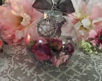 Witches Charm Ball,  Spell Ball, Witch Charm Ball, Amulet, Talisman