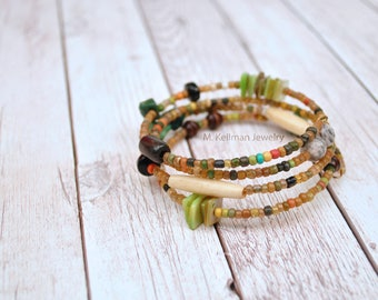 Jurema Bracelet, Adjustable bracelet, Earthy jewelry