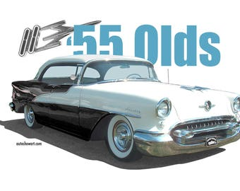 T-Shirt 1955 Oldsmobile