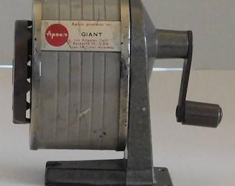 Apsco Giant Vintage Pencil Sharpener