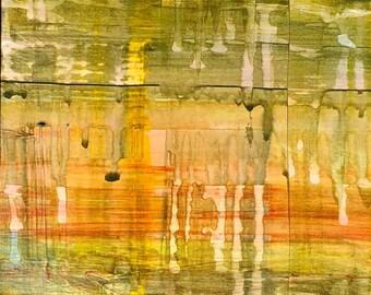 framed painting Sunset #2
