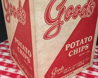 Free Shipping- Good's Potato Chip Box