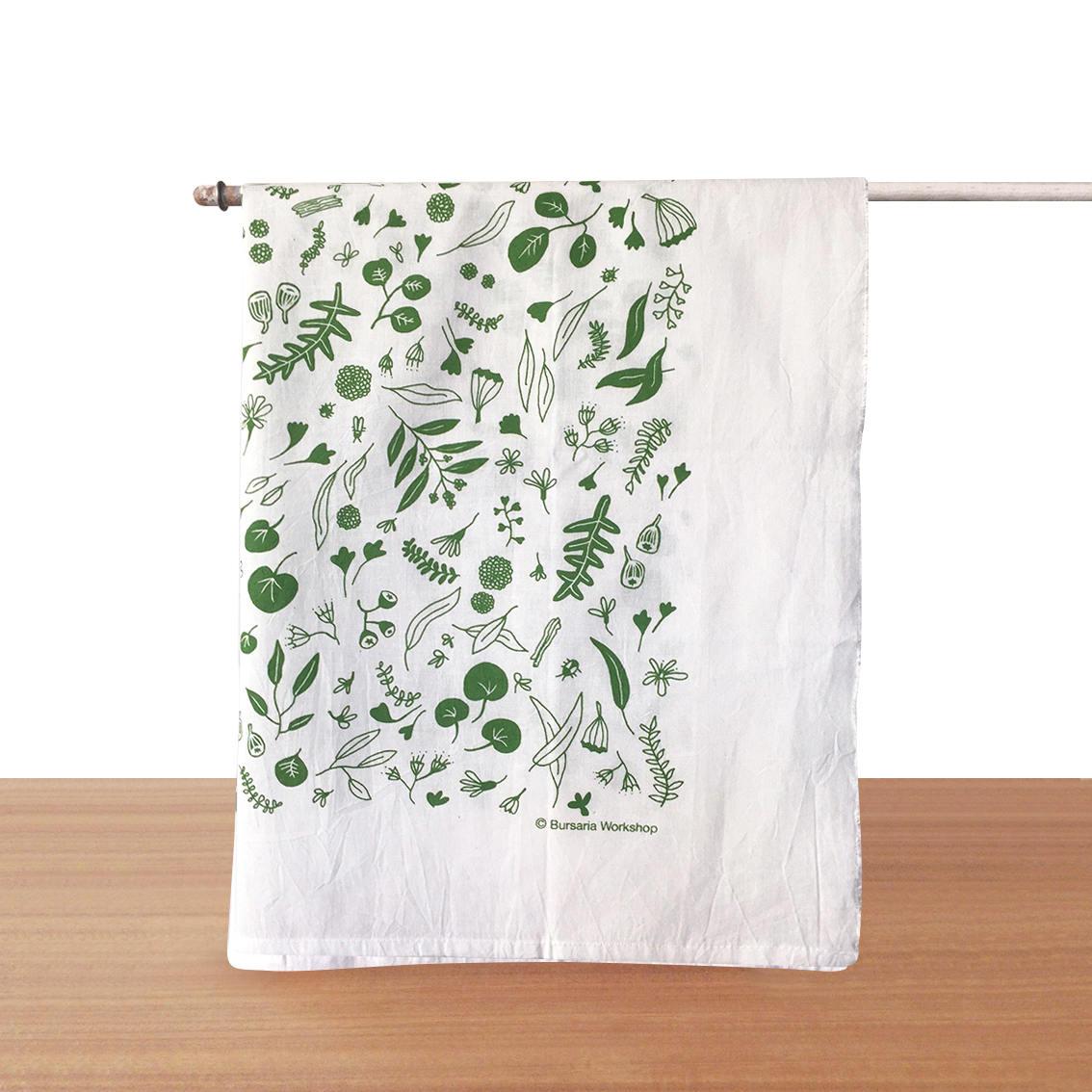 Extra Large Kitchen Towel // Flour Sack Tea Towel // Organic