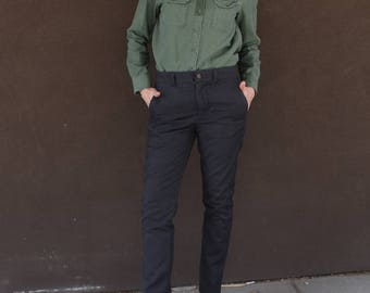 Vintage Gray CHINO Trousets