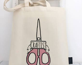 Craftist | Craft Bag | Craft | Project Bag | Gift For Crafters | Sewing