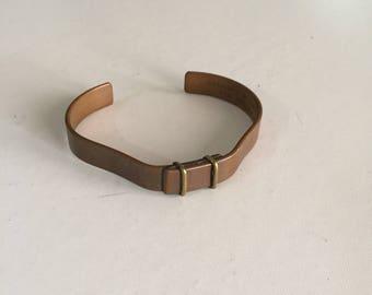 Tiffany and Company Copper Cuff Bracelet /Modernist Copper Cuff/ Mid Century Modern Design/c.1950's By Gatormom13