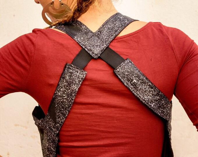 Galaxy Holster Bag, Cotton Shoulder Holster, Black Holster Bag,Cotton Shoulder Holster Bag ,Reversible Body Wallet, Steampunk Bag