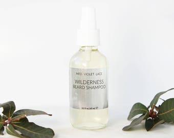 Wilderness Beard Wash   100% natural and vegan beard shampoo