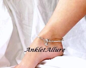 Girls Ankle Bracelet Anket Cat Anklet Feline Ankle Bracelet Pink Crystal Anklet GUARANTEE Ankle Jewelry