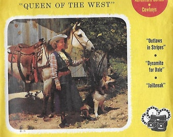 1950's View-Master - Dale Evans - Queen Of The West - Set Of Three