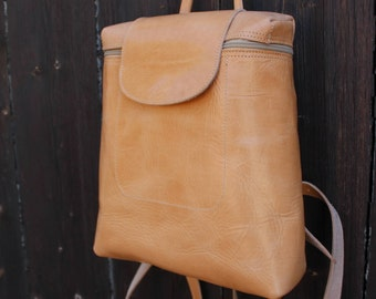 Leather backpack, leather laptop bag, womens backpack, sac a dos cuir, sac a dos femmes
