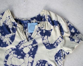 Reverse Tie Dye Geode T Shirt Dress Size MEDIUM || Ready to Ship