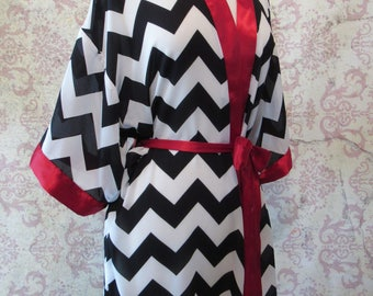 Black Lodge Dressing Robe // Twin Peaks Inspired Lingerie Robe