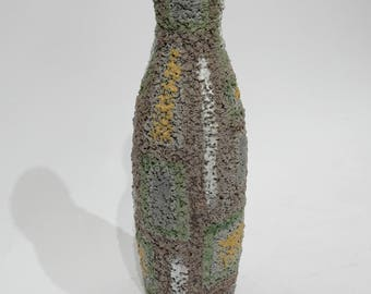 Unusual Raymor Ceramic Vase, Italy 1960's