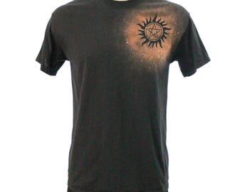 Supernatural Bleach Dye Tee Shirt
