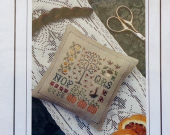 Cross Stitch Pattern | SPOT OF AUTUMN | The Drawn Thread | Counted Cross Stitch Pattern