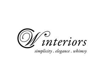 Custom Logo Design, Logo Design, Interior Design Logo, Real Estate Logo, Business Logo, Elegant Logo, Minimalist Logo, CW logo