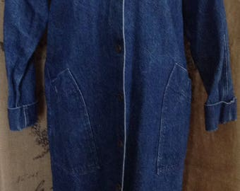 Oshkosh denim duster long coat