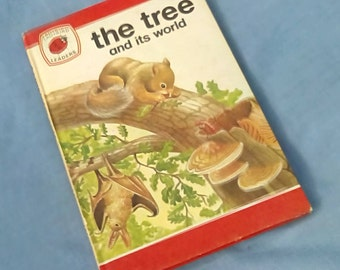 The Tree and its World - Vintage Ladybird Book Series 737 Ladybird Leaders -  Matt Covers - Tally 370 - Revised Price 24p - 1st Edition