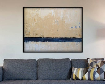 48x36 Inch Large Abstract Painting, Abstract Wall Art. Large Abstract Art. 2 Piece Original Abstract Painting. Large Abstract Wall Painting.