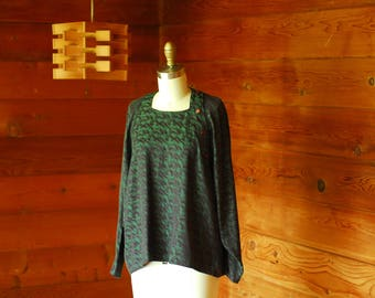 vintage Anne Marie Beretta blouse / size small