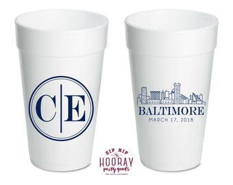 Beer cups for wedding