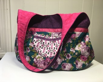 Spring shoulder bag