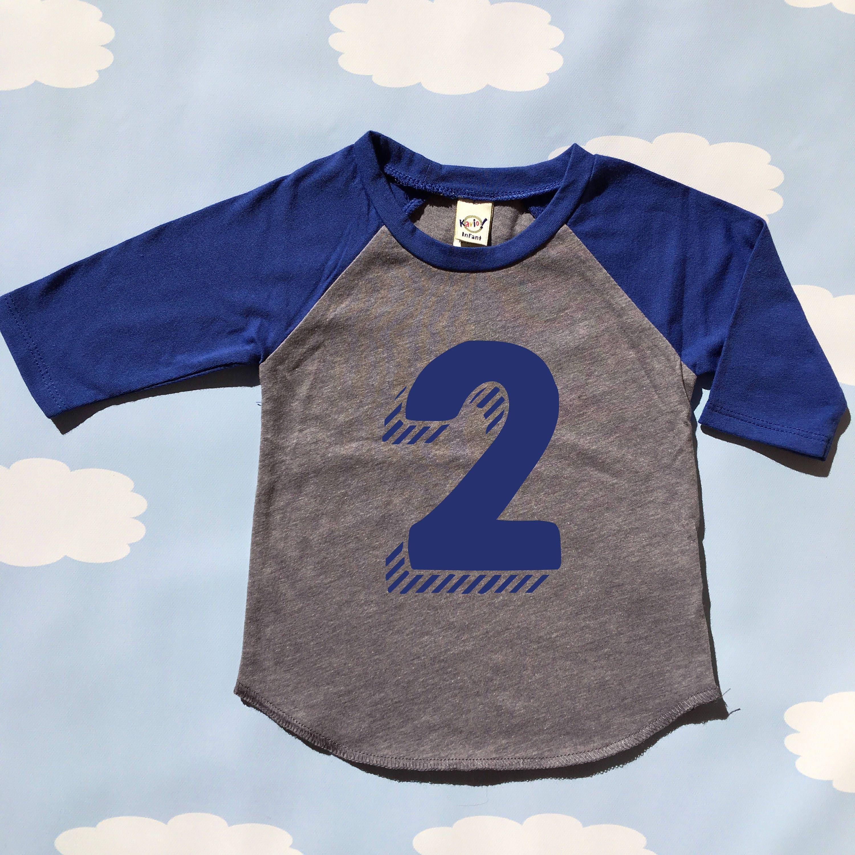 Birthday Shirt 2 Boy 2nd Birthday Shirt Second Birthday Shirt Two