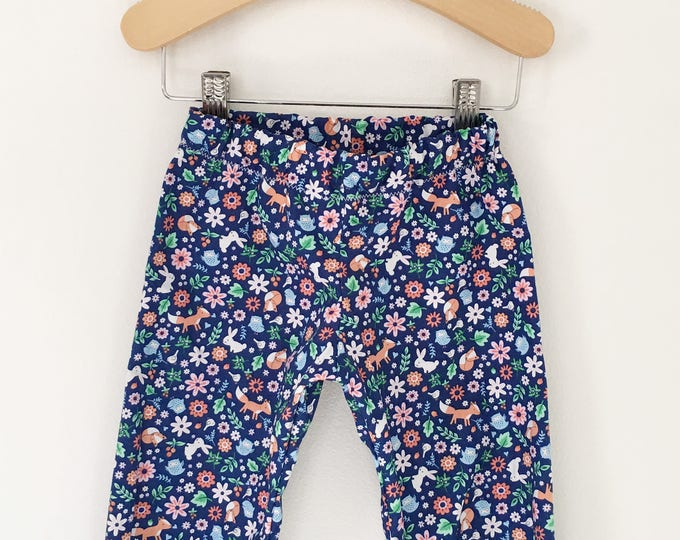 Floral Baby, Toddler, and Child Harem Pants