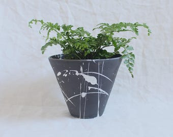 Torrent Planter Large Dark Grey Made to Order