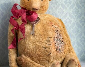 OOAK Artists Teddy Bear pattern, teddy pattern, teddy bear pattern, pdf pattern teddy bear, plush bear, soft toy pattern