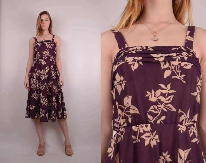 70's Floral Sundress