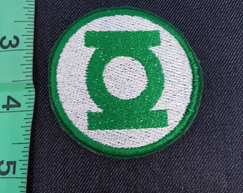 DC Green Lantern Justice League Iron/Sew on Patch