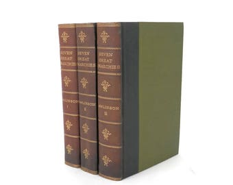 Seven Great Monarchies of the Ancient Eastern World by George Rawlings 3 Volume Set