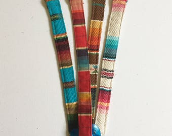 Pacifier Clip, Paci Holder, Teether Clips, Mexican Sarape