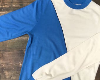 80s Split Block Colour Sweatshirt